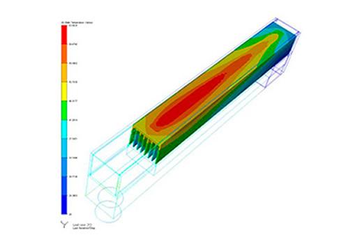 Heat Sink Thermal and Pressure Drop Analysis