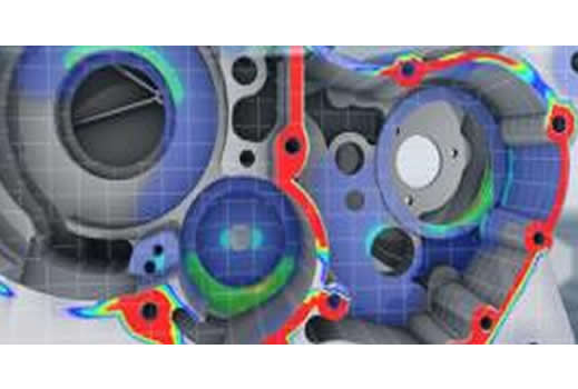 Predictive Engineering and Femap v11.1: Norton Crankcase Analysis