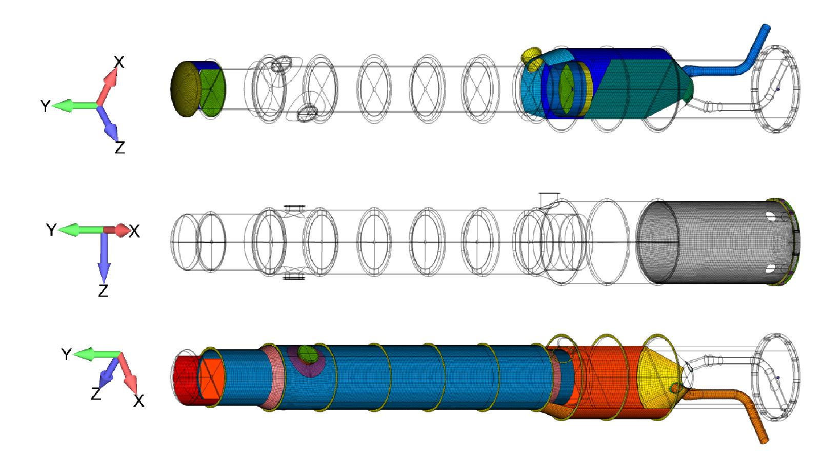 Figure 2: Plate element mesh.