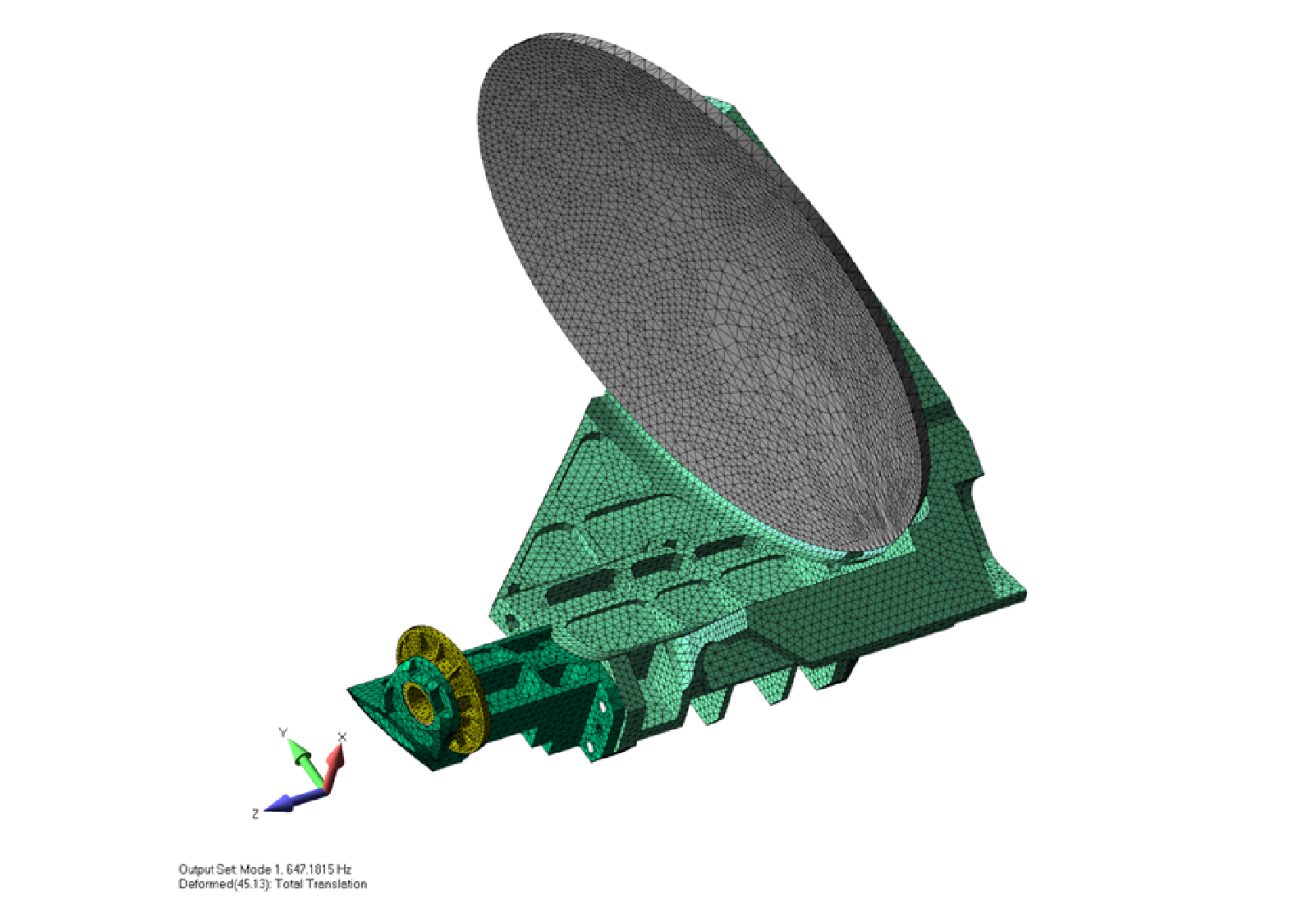 SiC ceramic antenna assembly for high-precision optical work