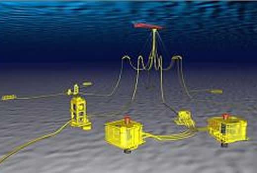 Autonomous guided undersea cables