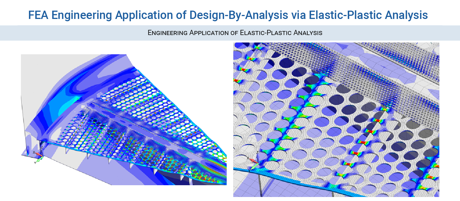FEA BPVC Consulting Services - Engineering Application of Elastic-Plastic Analysis