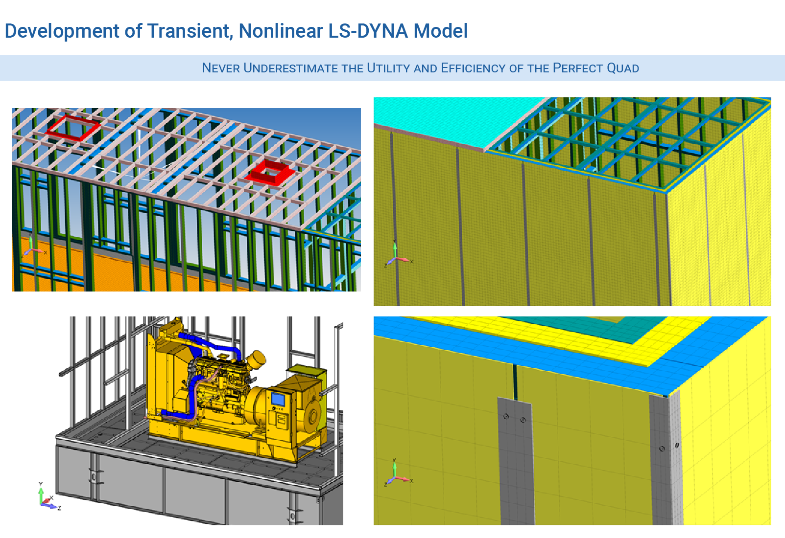 Transient nonlinear LS-DYNA model development for blast analysis of building