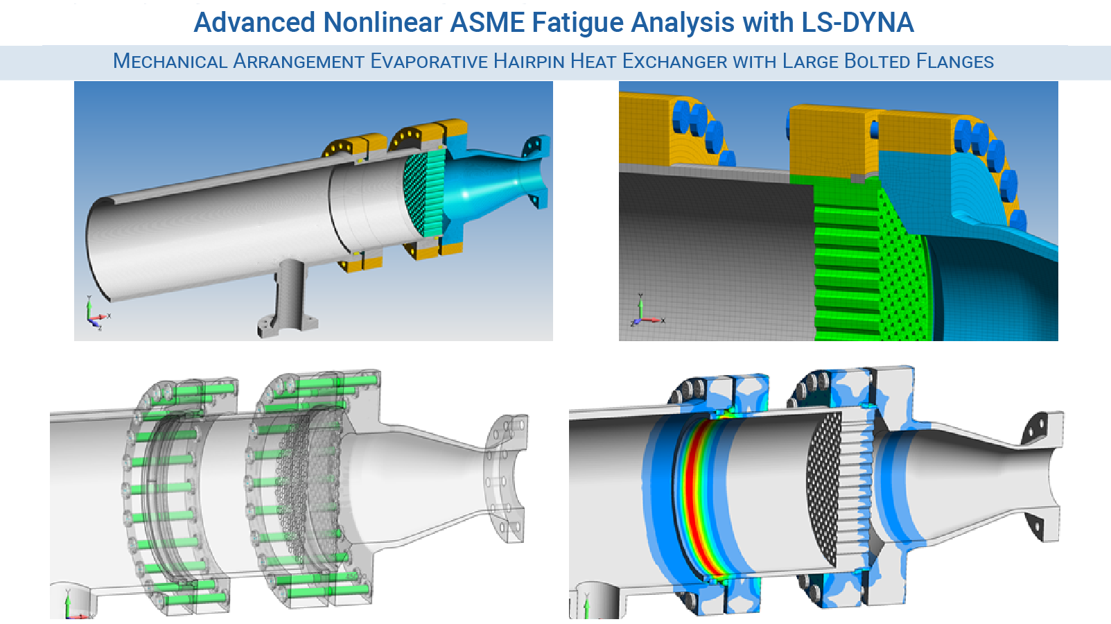 LS-DYNA Consulting Services - Advanced Nonlinear ASME Fatigue Analysis with LS-DYNA