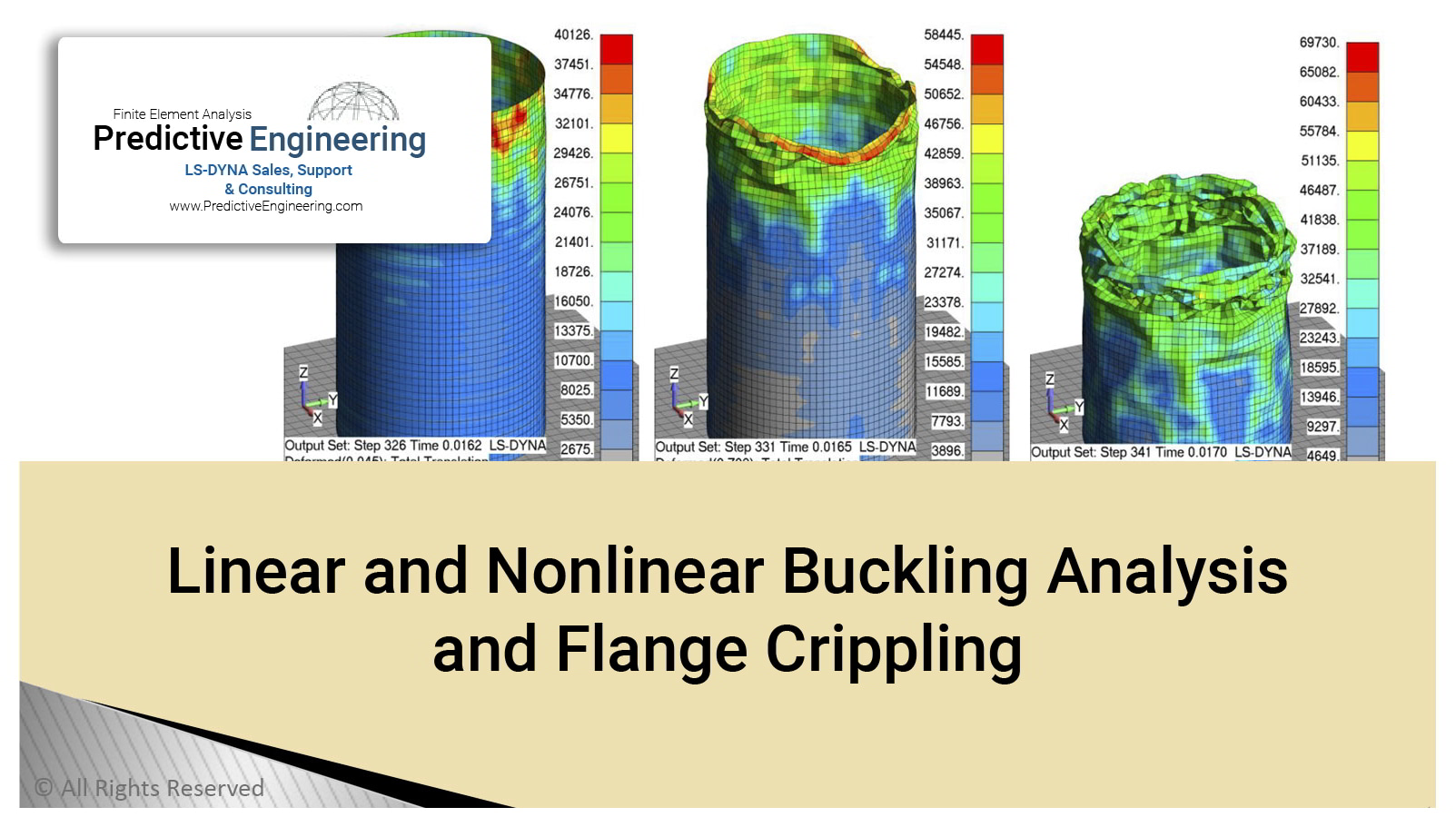 Linear and Nonlinear Buckling Analysis and Flange Crippling Image