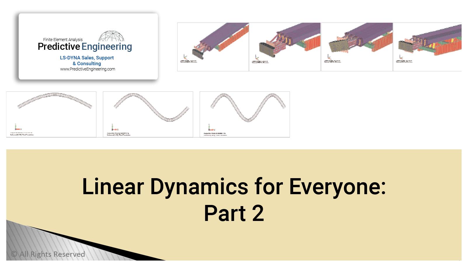 Linear Dynamics part 2