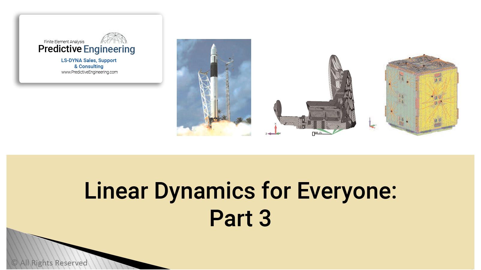 Linear Dynamics part 3