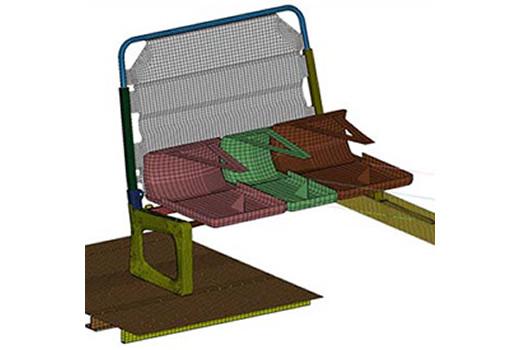 Bus Seat Testing