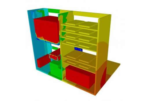 Thermal optimization of biological conditioning oven by CFD simulation