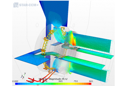 STAR CCM+ Flow Analysis of Wet Compression System for Gas Turbine